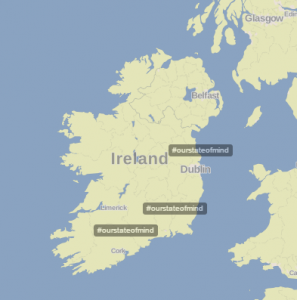 OSOM trending in Ireland 11 March 2016
