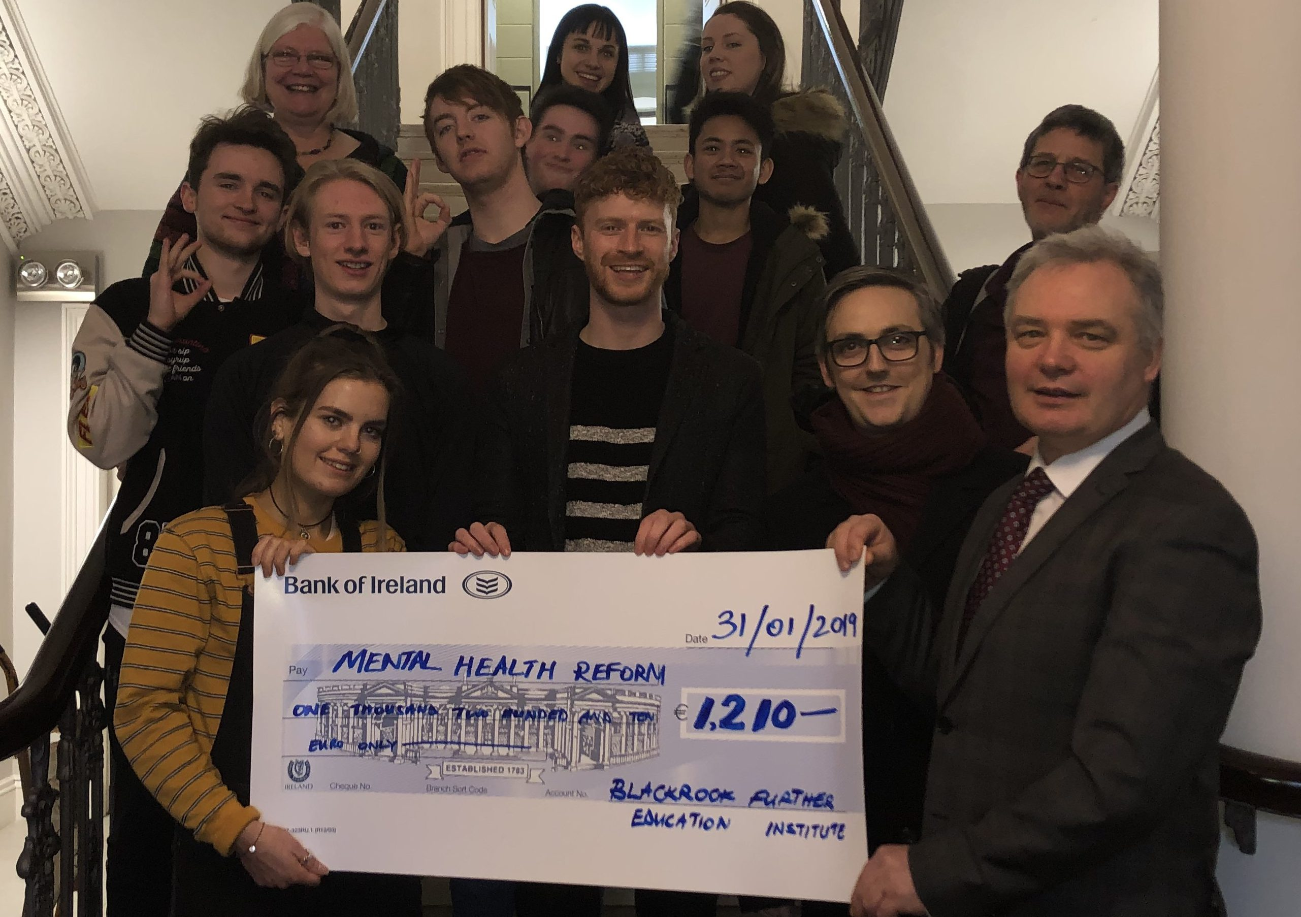 Thank you Blackrock Further Education Institute!