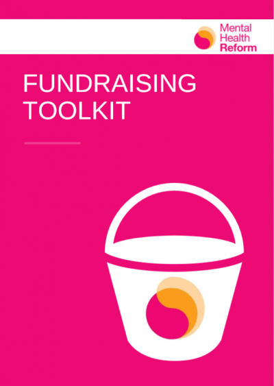 Cover of Mental Health Reform's Fundraising Toolkit